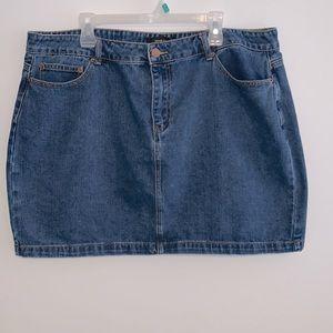 Forever 21+ Jean skirt